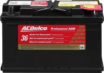 ACDelco 94RAGM Professional Car Battery