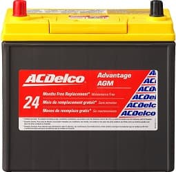 ACDelco ACDB24R Advantage Battery