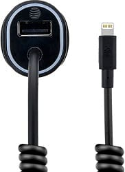 AT&T 4903G 3.4 Amp MFI Lightning Rapid Car Charger