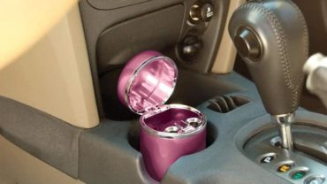 Bell Automotive 22-1-39268-8 Pink Diamond Ashtray