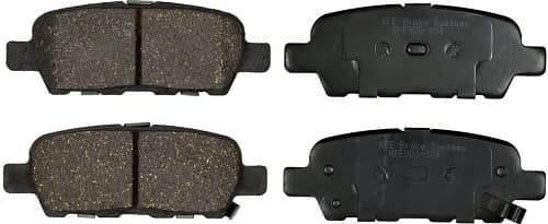Brake Pad Rear Set By KFE Brake Systems