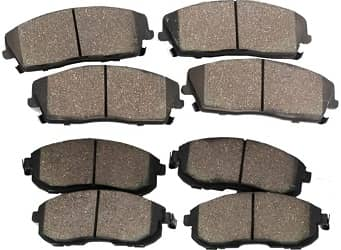 Detroit Axle Ceramic Brake Pads