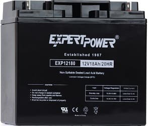 ExpertPower EXP12180 12V18AH Lead Acid Battery