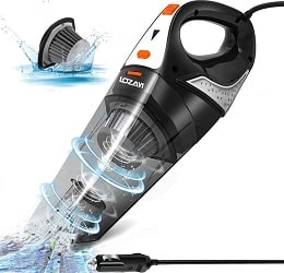 LOZAYI Corded Car Vacuum Cleaner