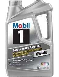Mobil 1 120760 Synthetic Motor Oil