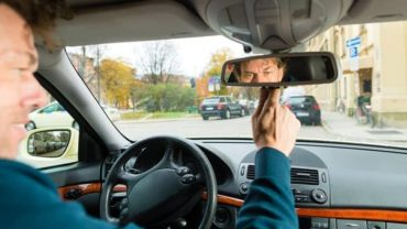 Adjust and Use your Car Mirrors