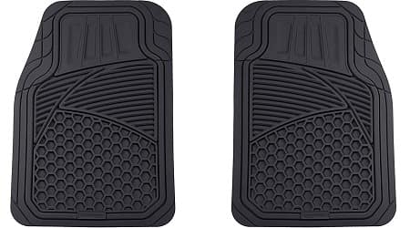 AmazonBasics 4 Piece Heavy Duty Car Floor Mat