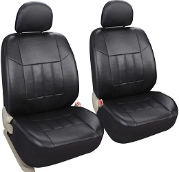 Auto 2 Leather Black Car Seat Covers