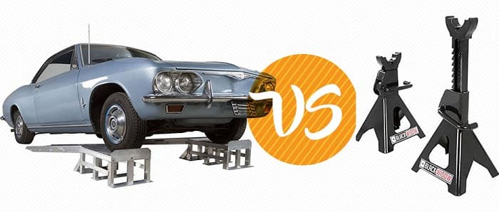 Car Ramps vs. Jack Stands