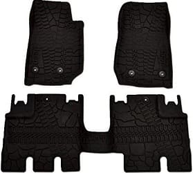Mopar All-Weather 3-Piece Floor Mat Set