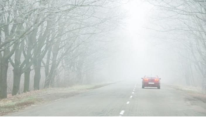 Reduce Risk while Driving in Fog